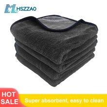 Очень мягкое вощеное полотенце из микрофибры для мытья автомобиля, сушильная Ткань для очистки автомобиля, ткань для ухода за автомобилем, полотенце для мытья автомобиля без царапин