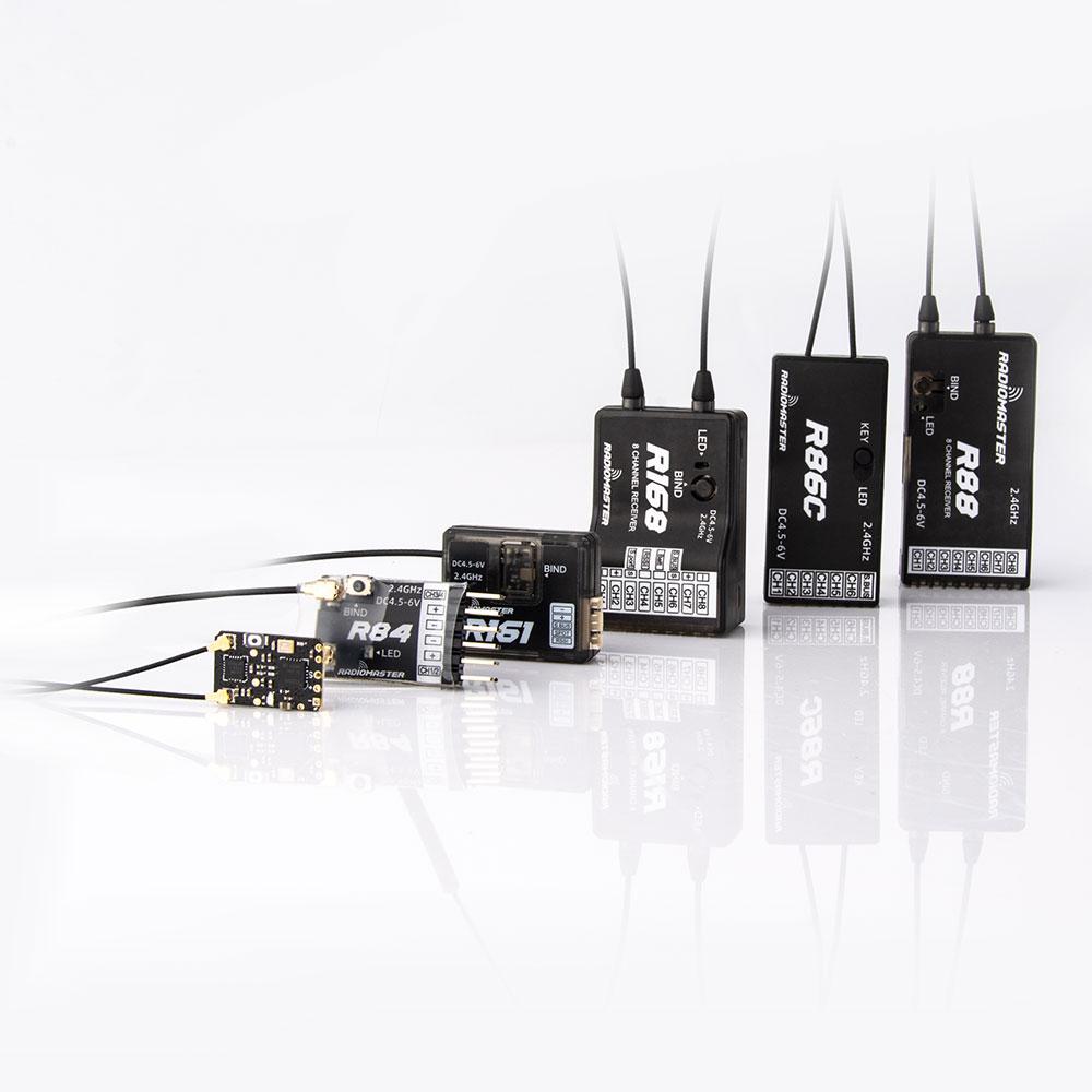 Нано-приемник RadioMaster R81/R84/R86/R86C/R88/R168, 2,4 ГГц