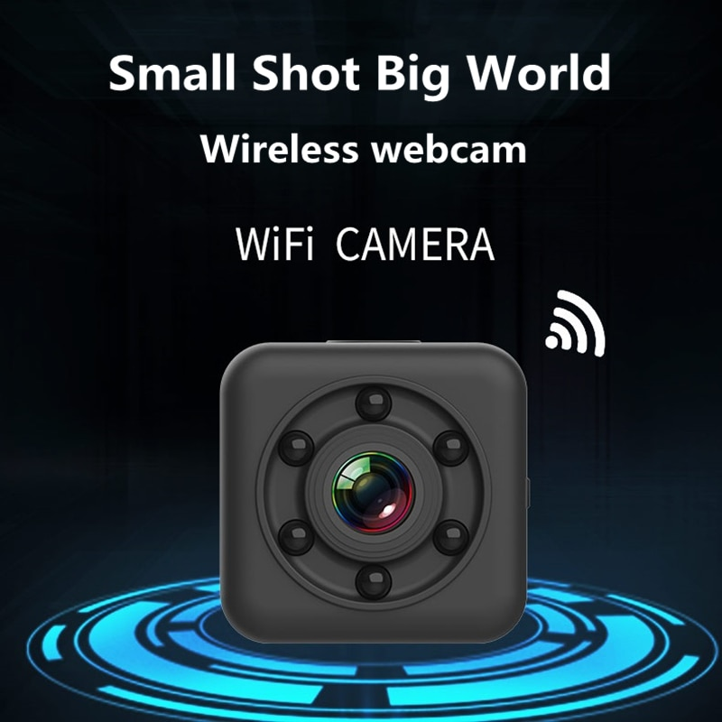 Roreta HD WIFI Mini Small Camera Night Vision Waterproof Shell sports Action Video Camera Hidden For Home Indoor Outdoor