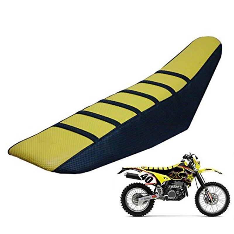 Universal de pinza suave Off-road motocicleta asiento cojines cubierta de asiento para KTM-País de asiento de la motocicleta cojín antideslizante grueso
