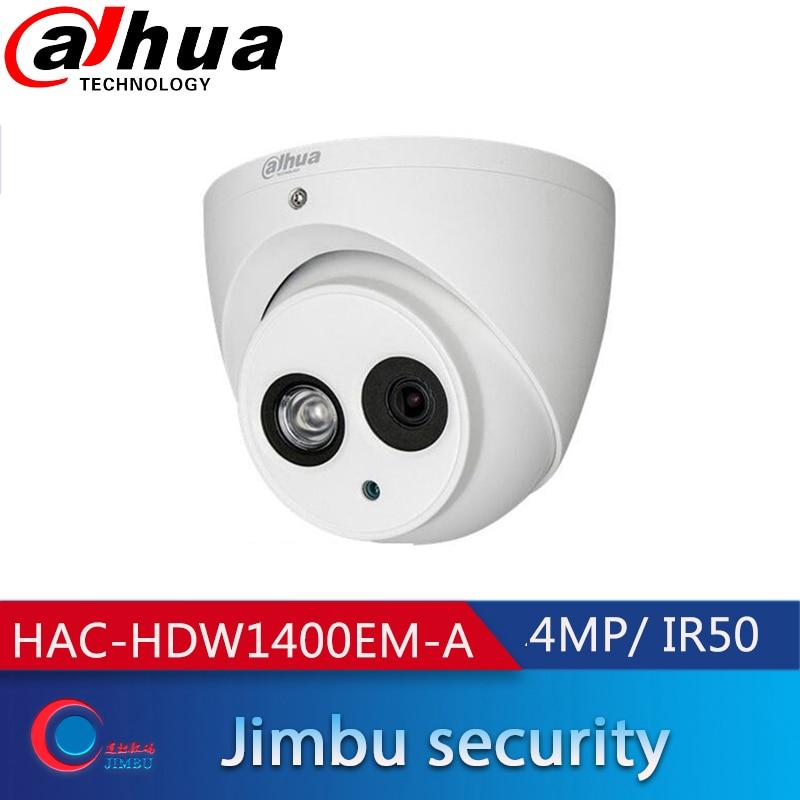 داهوا HAC-HDW1400EM-A 2.8 مللي متر 3.6 مللي متر 4MP HDCVI IR مقلة العين كاميرا بنيت في mic IR50m IP67 HAC-HDW1400EMP-A