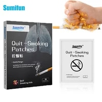 5pcs anti smoke patch stop quit smoking round cessation patch 100 natural ingredient chinese herbal medical plaster throat care
