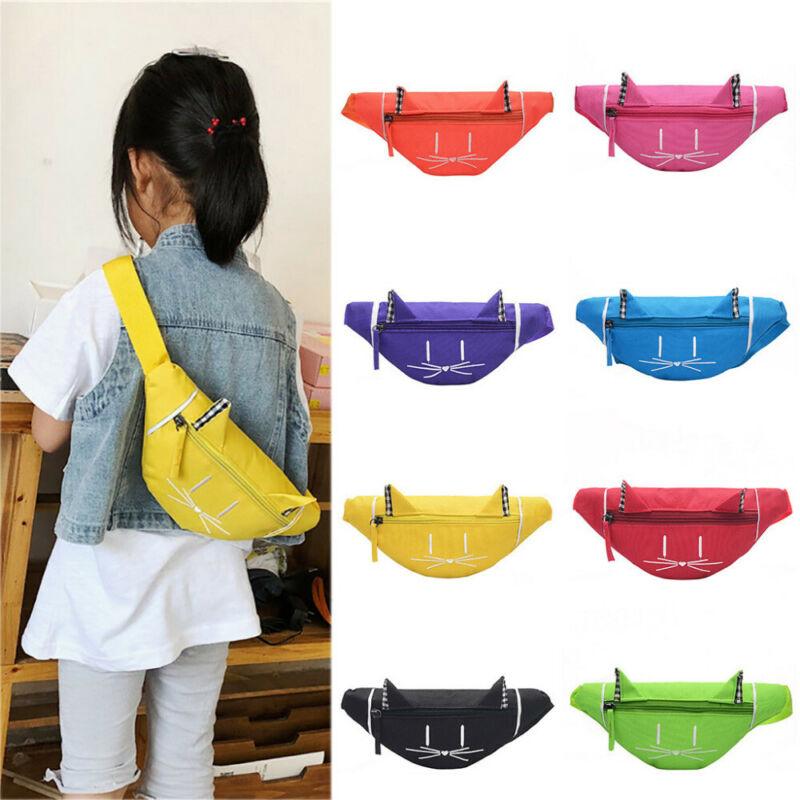 Crianças Meninas Cintura Bloco de Fanny Belt Bag Bolsa Hip Bum Travel Bag Esporte Pequena Bolsa Saco