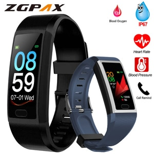 Fitness Bracelet Blood Pressure Measurement Waterproof Smart Band Bracelet Watch Fitness Tracker Heart Rate Activity Tracker