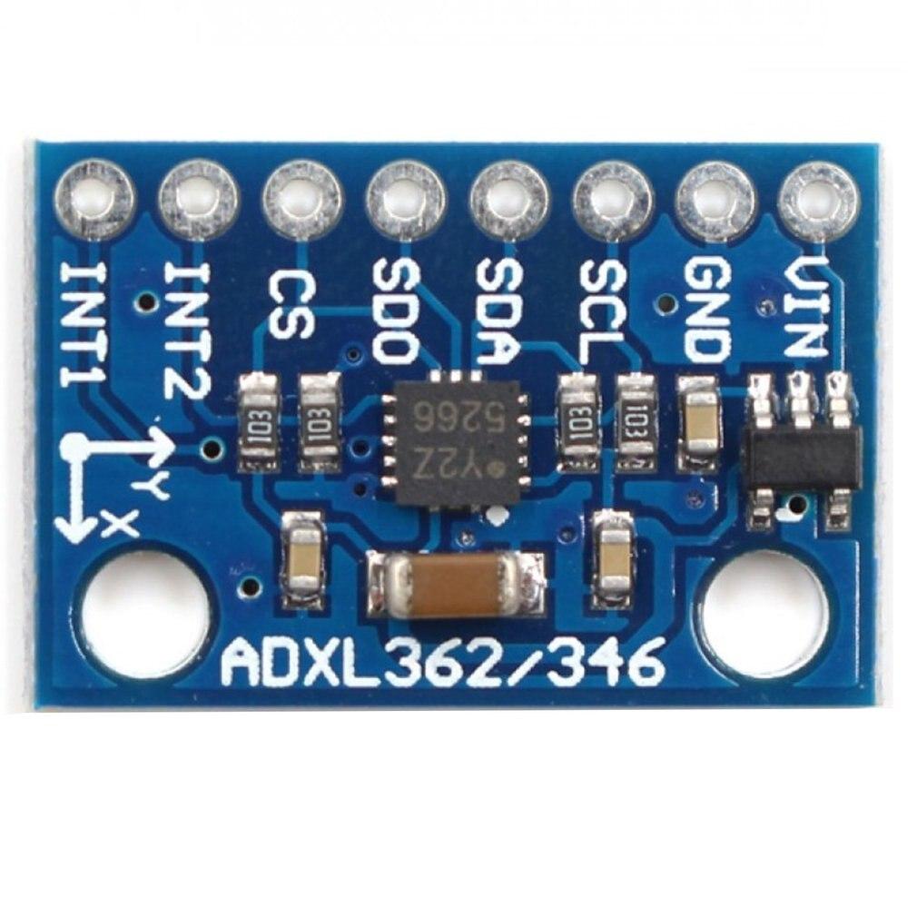 Módulo de sensor de alta precisión profesional GY-346 ADXL346 reemplaza el módulo ADXL345 IIC I2C SPI
