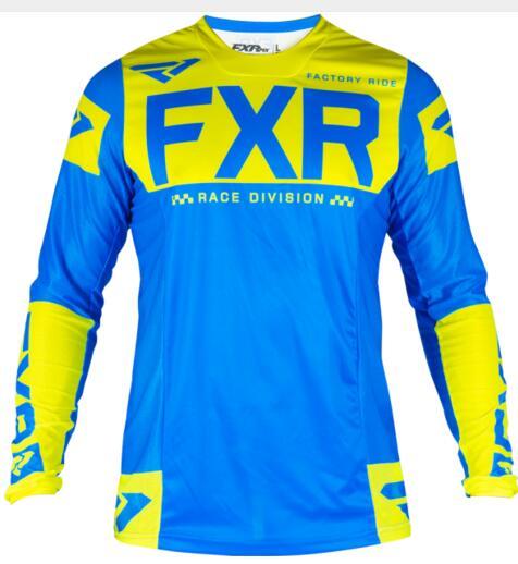 2020FXR MTB Camiseta de MotoCross MX BMX Off-Road motocicleta Camiseta larga de...