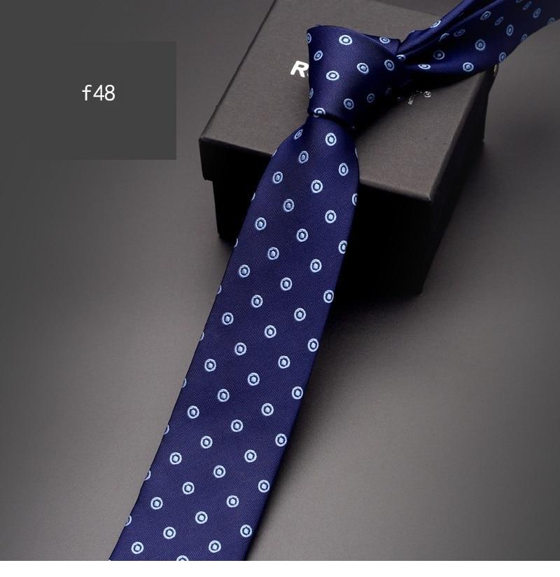 2019 New Arrivals Fashion Designer 6CM Slim Necktie for Men Business Formal Casual Wedding Party Big grid Neck Tie with Gift Box