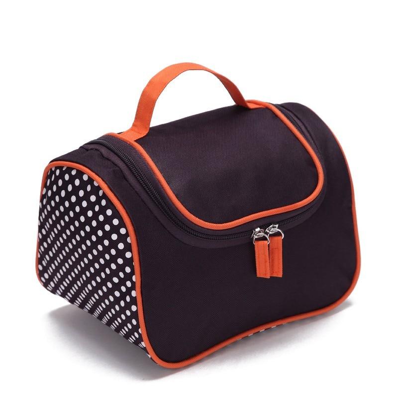 Bolsa para cosméticos multifunción impermeable de viaje neceser organizador cremallera bolsa para estuche de maquillaje neceser bolsas