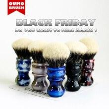 OUMO BRUSH-  Venus shaving brush with SHD Manchuria badger knots