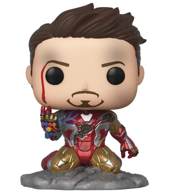 Avengers Endgame: I Am Iron Man Glow-in-The-Dark Deluxe Vinyl Figure Multicolored Vinyl Doll Model Toys