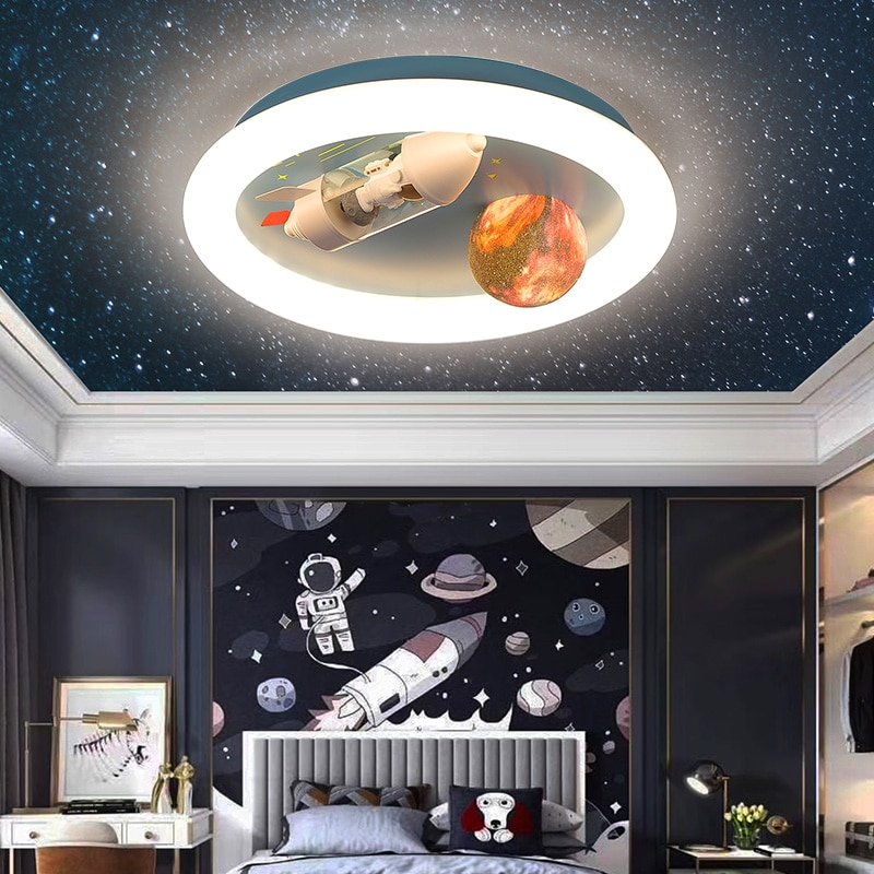 Lámpara led de techo para decoración del hogar, lámparas de iluminación nórdica...