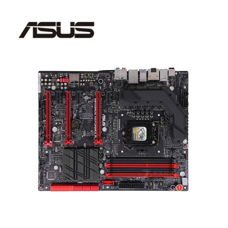 Für Asus Maximus VII Formel Desktop Motherboard Z87 LGA 1150 Für Core i7 i5 i3 DDR3 SATA3 USB 3,0 Original verwendet Mainboard