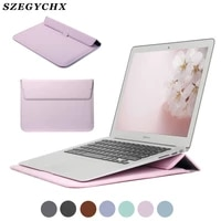 2020 a2289 stand cover for apple macbook air 13 pro 16 12 11 15 laptop case for mac pro 13 case m1 a2338 a2337 a1932 sleeve bag
