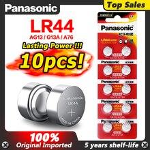 Panasonic 10pcs 1,5 V A76 AG13 G13A LR44 LR1154 357A SR44 Taste Zelle Batterie lr44 Lithium-Münze Batterien 100% original