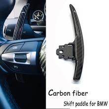 1 set di Carbonio del cambio paddle per BMW F36 F21 F22 F32 F30 F02 F80 F11 F06 F20 F23 F10 F12 f26 F15 M3 M4 M5 M6 Volante
