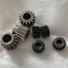 Engrenage de démarrage à moteur 0.5M 0.6M   2 pièces, étanche adapté aux dents 11 12 13 15 19, 2.3 3.175 4 5 6, 8 mm diamètre de alésage 1M = engrenage convexe