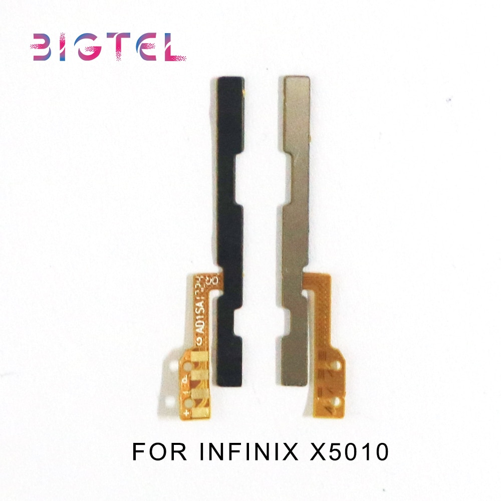 5 Pcs/Lot For Infinix X5010 X5514 X5515 X5516 Side Power ON OFF Volume Key Button Switch Flex Cable Ribbon Repair Parts недорого
