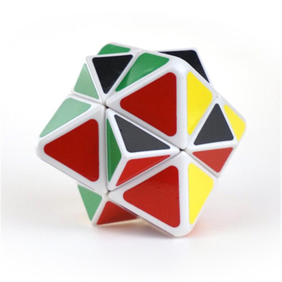 Cubo mágico clásico Cubos Magicos mágico estrés cerebral cubo mágico nuevas esferas juguetes educativos para niños llavero DD60MF
