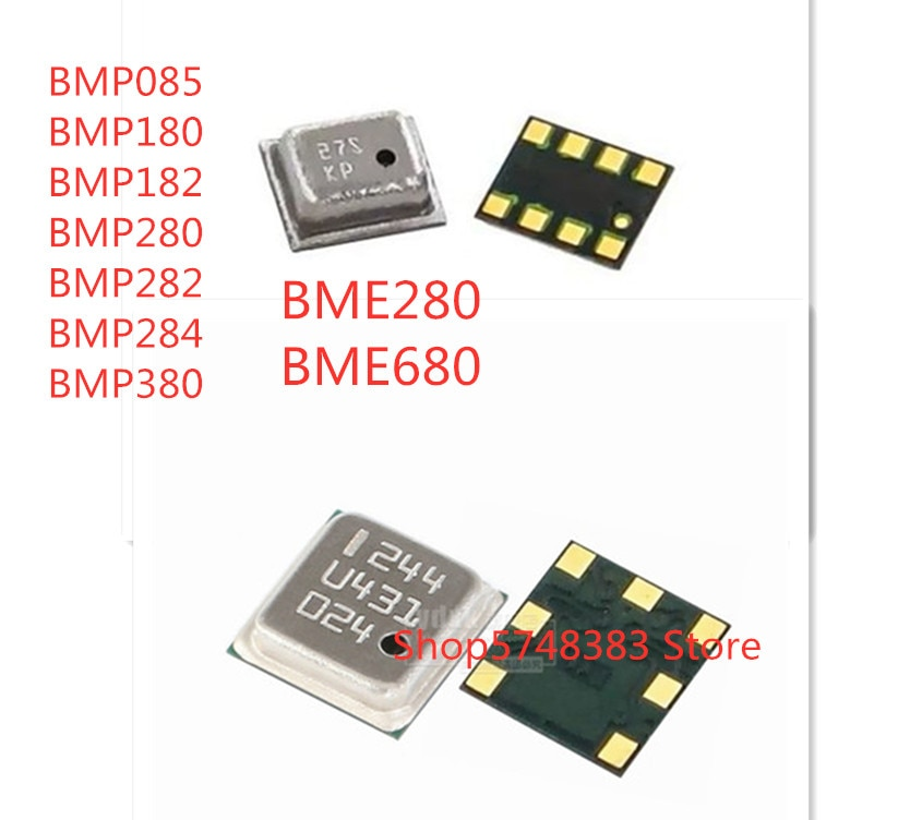 10PCS/LOT BMP085 BMP180 BMP182 BMP280 BMP282 BMP284 BMP380 BME280 BME680 IC sensor