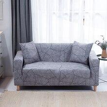Housse de canapé extensible pour salon enveloppement serré housse de siège élastique sectionnelle tout compris