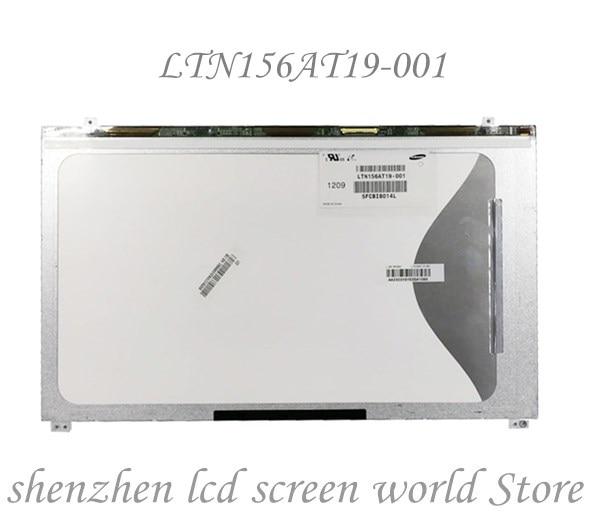 Pantalla LCD LED WXGA de 15,6 pulgadas LTN156AT19 LTN156AT19-001 para Samsung NP-SF510 NP300E5A