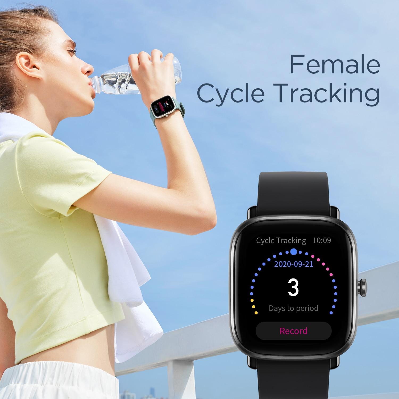 Глобальная версия Amazfit GTS 2 мини GPS Smartwatch активно-матричные осид, Дисплей 70 спортивных режимов монитор наблюдения за сном, умные часы для Android iOS-4