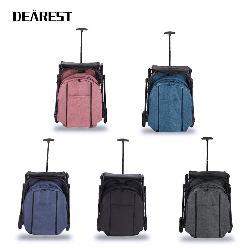 Dearest 2021 Years of the New Upgrade Baby Portable Folding Baby Stroller Lightweight Travel Four Seasons Available enlarge