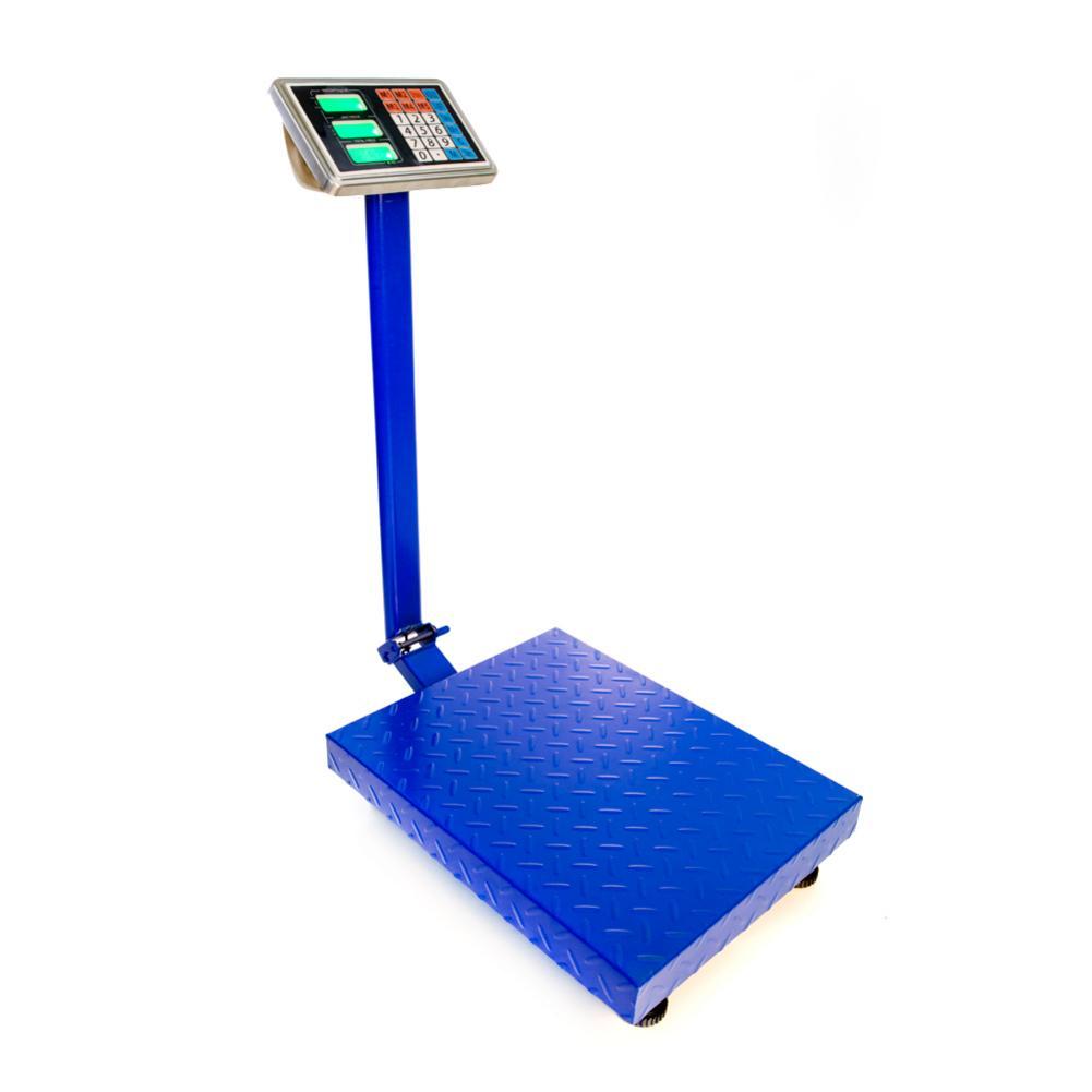 300KG/661lb LCD Digital Personal plataforma Postal balanza precisión 1/3000f.s 2 Ac 220v/110v batería recargable incorporada
