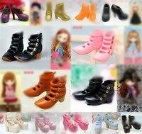 Подлинные 1/6 blyth куклы кроссовки Licca обувь многосоставные blyth сапоги аксессуары сандалии для blythe doll