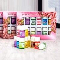 Ensemble de bouteilles dhuile essentielle pour aromatherapie  parfum aromatique Soluble dans leau  pour maison  chambre et voiture  JY17