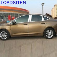 Car Automobile Modified Window Handle Rearlamp Door Exterior Sticker Strip Bright Sequins Protecter 15 16 17 18 FOR Buick Vernao