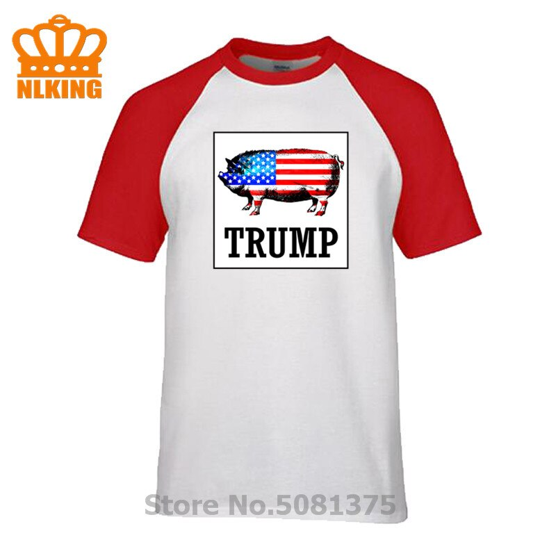 Cool Trump 2020 camiseta de la bandera estadounidense presidente Donald Trump camiseta republicana Unisex Cool Casual pride camiseta moda hombres camiseta