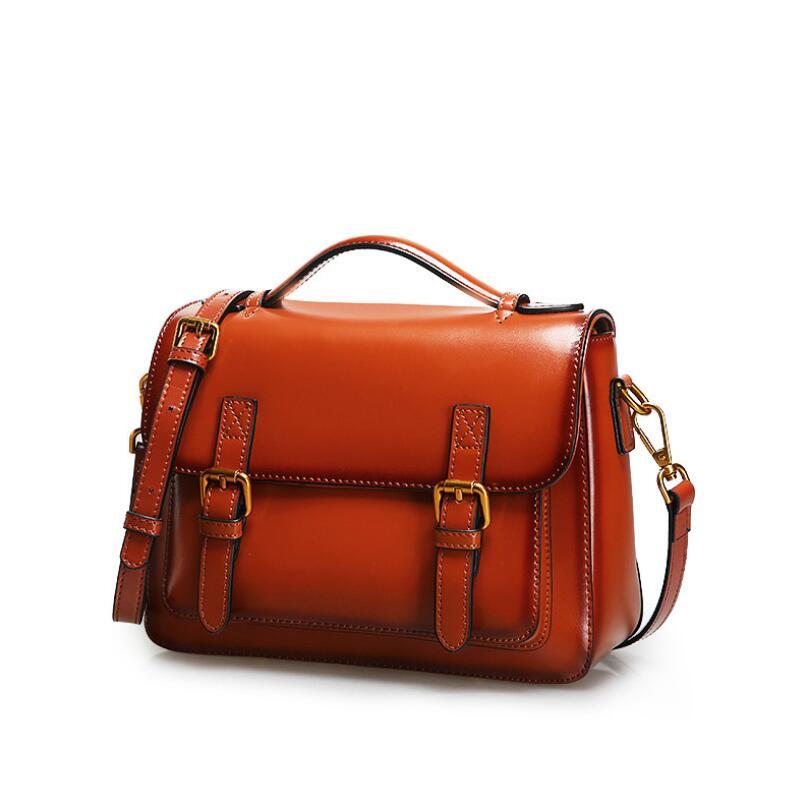 2021 السيدات حقائب تسوق بخمر تقاطعية جلد طبيعي الكتف حقيبة ساعي المرأة الفاخرة مصمم المحافظ وحقائب اليد عالية الجودة