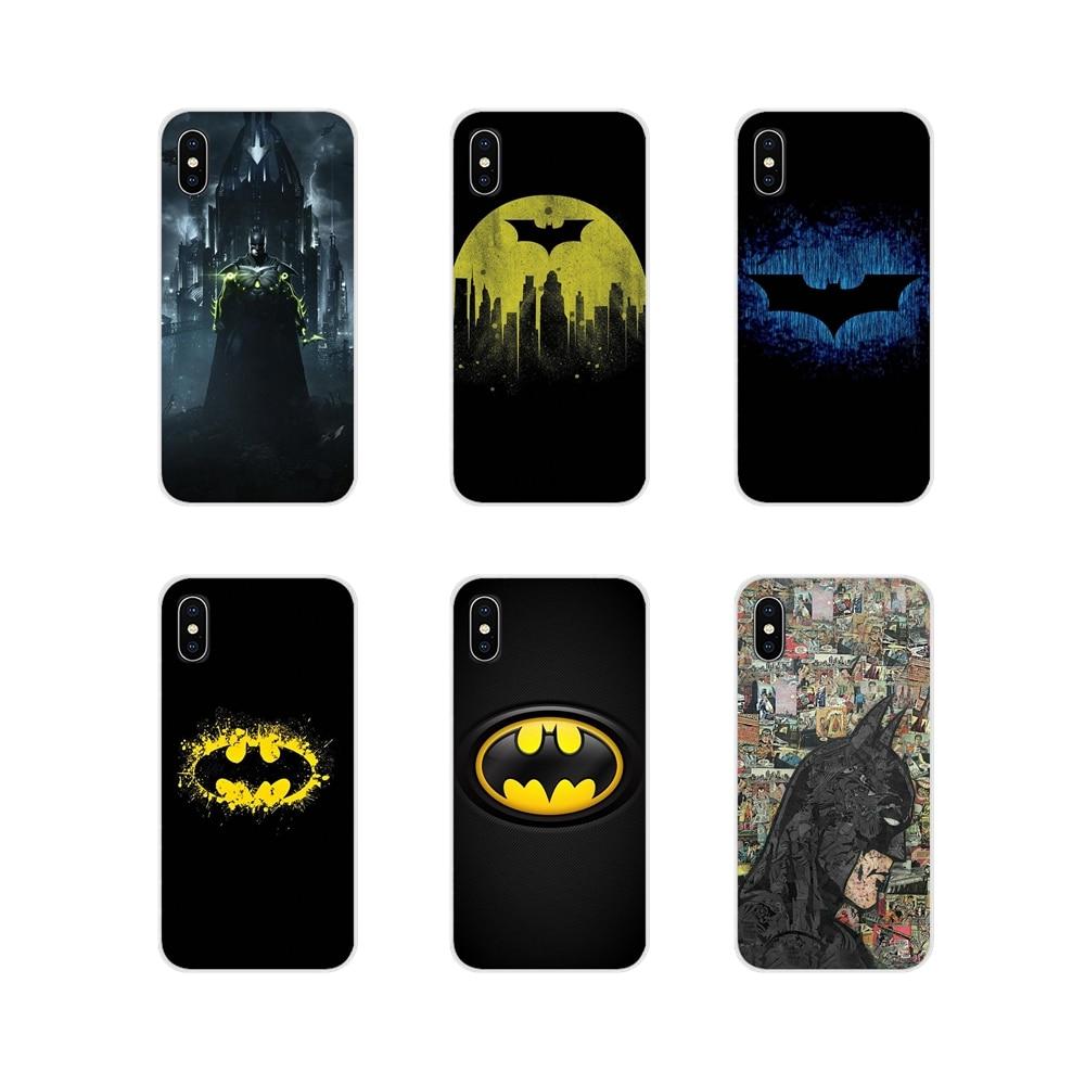 Marvel Batman vengadores accesorios cubiertas de los casos del teléfono para Samsung Galaxy J1 J2 J3 J4 J5 J6 J7 J8 Plus 2018 de 2015 de 2016 a 2017