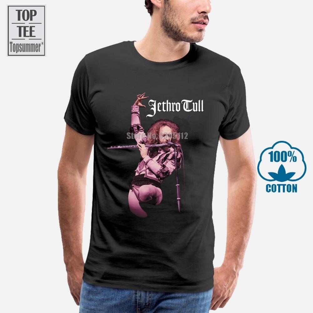 Jethro Tull футболка флейта Официальный товар