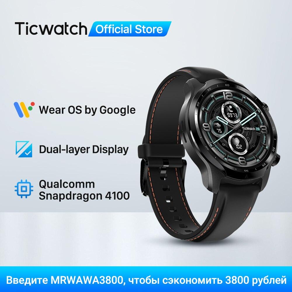 TicWatch Pro 3 GPS Wear OS Smartwatch Men's Sports Watch Dual-layer Display Snapdragon Wear 4100 8GB ROM 3~45 Days Battery Life