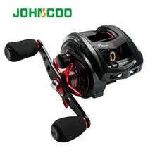 JOHNCOO MT200 Bait Casting Reel Big Game 13kg Max Drag jig Reel 11+1 BB 7.1:1 Aluminium Alloy Body Jigging Fishing Reel