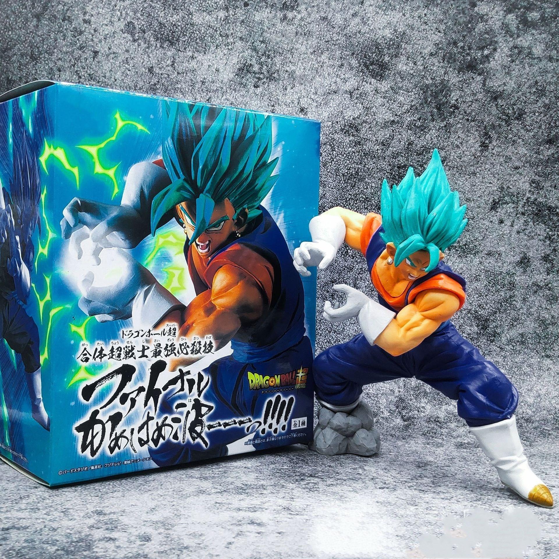 Dragon Ball Super Anime Figures Vegetto Son Goku Vegeta Potara Kamehameha PVC Toys Model Action Figma DBZ Super Saiyan Juguetes