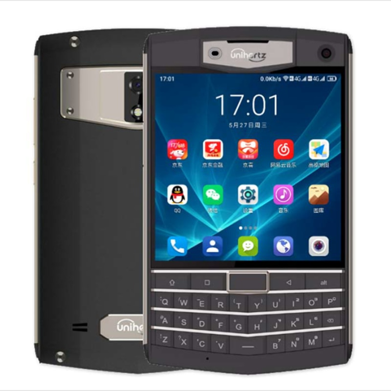 Unihertz-هاتف خلوي مقاوم للماء ، هاتف خلوي متين QWERTY IP67 ، MT6771 ، ثماني النواة ، Android 9.0 Pie ، 6GB ram ، 128GB rom ، NFC ، 6000mAh ، 4G
