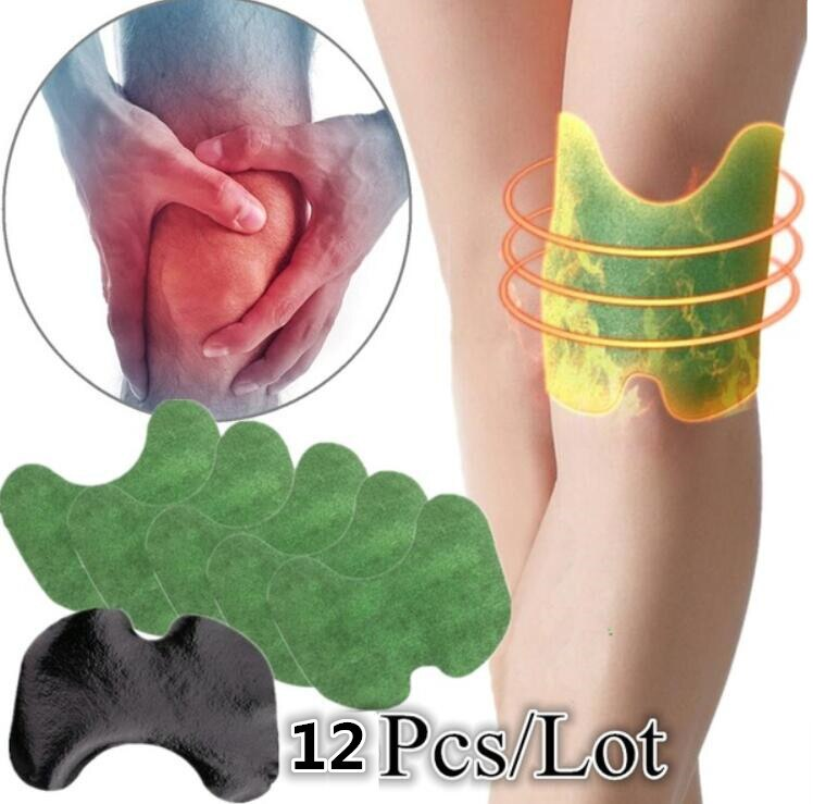 12 unids/bolsa de yeso médico para rodilla, extracto de ajenjo, dolor articular, alivio del dolor, pegatina para artritis reumatoide, parche corporal, cuidado de la salud