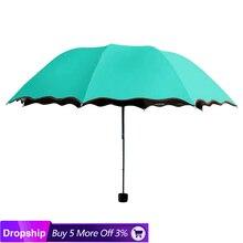 Reise Sonnenschirm Klapp Regen Winddicht Regenschirm Falten Anti-Uv Sonne/Regen Regenschirm folding mini sunny regenschirm @ 28