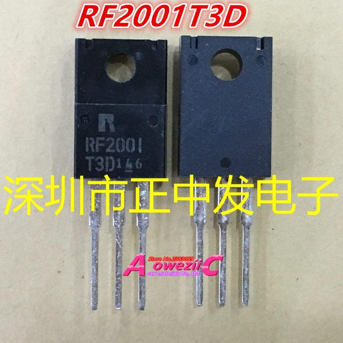 Aoweziic 100% new imported original RF2001T3D RF2001 RFU20-TM5S RFU20 TM5S TO-220 LCD plasma commonly used tube