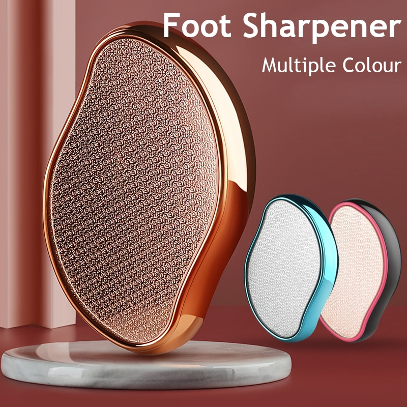 1PC Nano Glass Foot Grinding Foot Stone Device Single Foot   Household Pedicure Tools Pedicure File Peeling Foot Foot File hanriver multifunctional physical therapy electrotherapy acupoints foot foot massager household 220 v pedicure machine