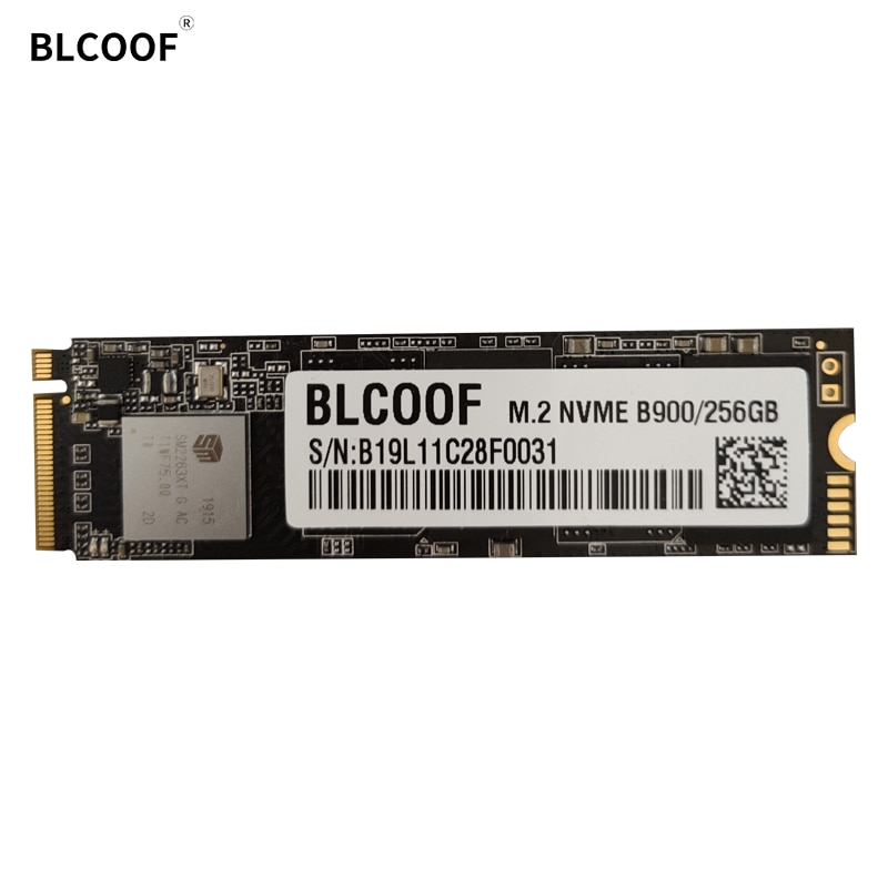 BLCOOF M.2 pcie SSD NVME 256GB  Solid State Drive B900 hard disk NVME SSD High Performance HDD For laptop/desktop/server
