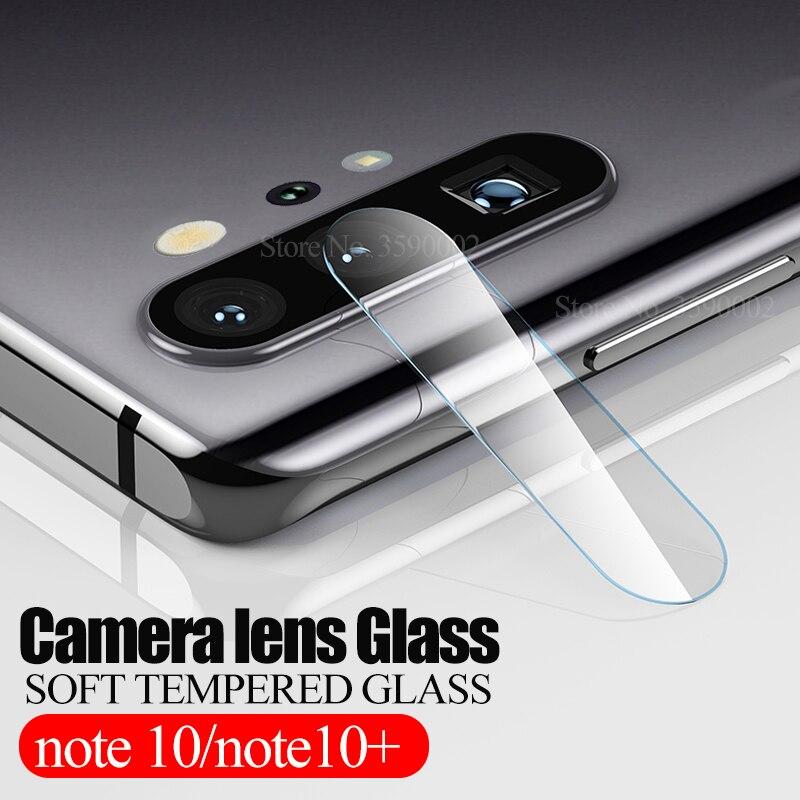 2pcs מצלמה אחורית מזג זכוכית עבור samsung galaxy note 10 בתוספת מגן גלאס על sumsung note10 10 + 10 בתוספת עדשת מגן סרט