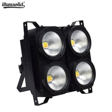 4eyes par led light 4x100W blinder Professional Combination Positive white/Warm white