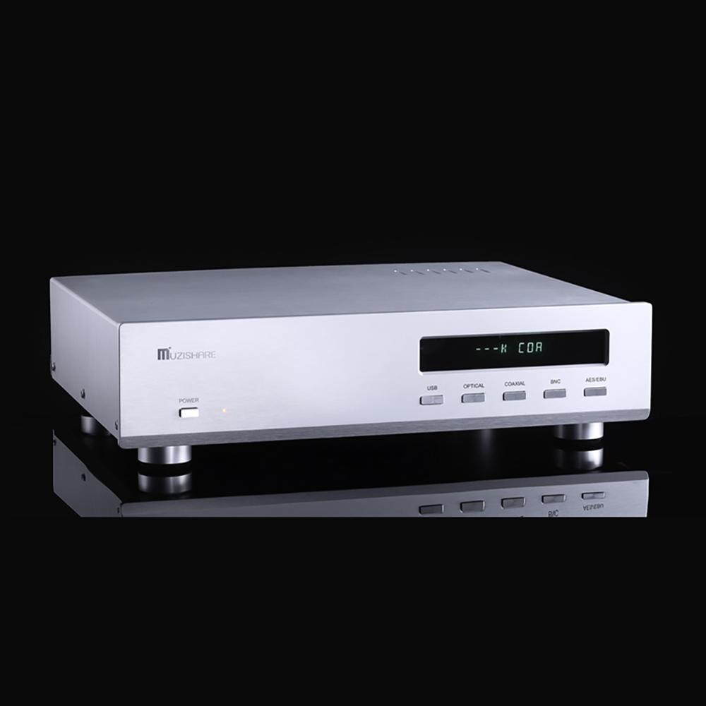 MUZISHARE R10 decodificador ES9018 32BIT hifi decodificador bilis DAC ESS9018 chip de sonido de fiebre decodificador