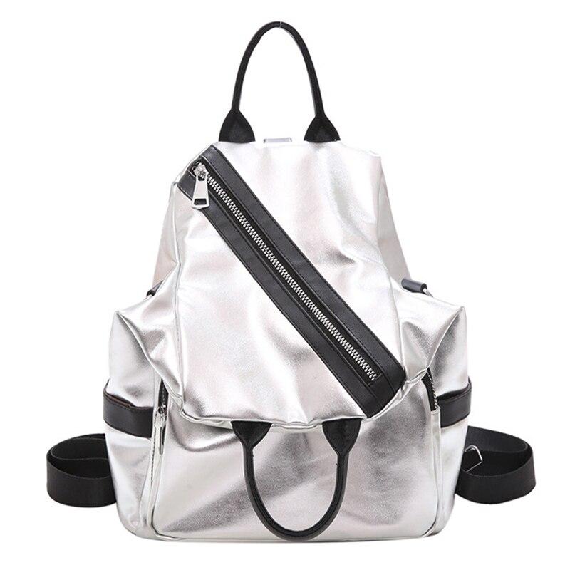 GUANGHUIXB Ladies Handbag Fashion Tide Brand Travel Multifunctional Backpack Leather Waterproof School Bag Luxury Shoulder Bag