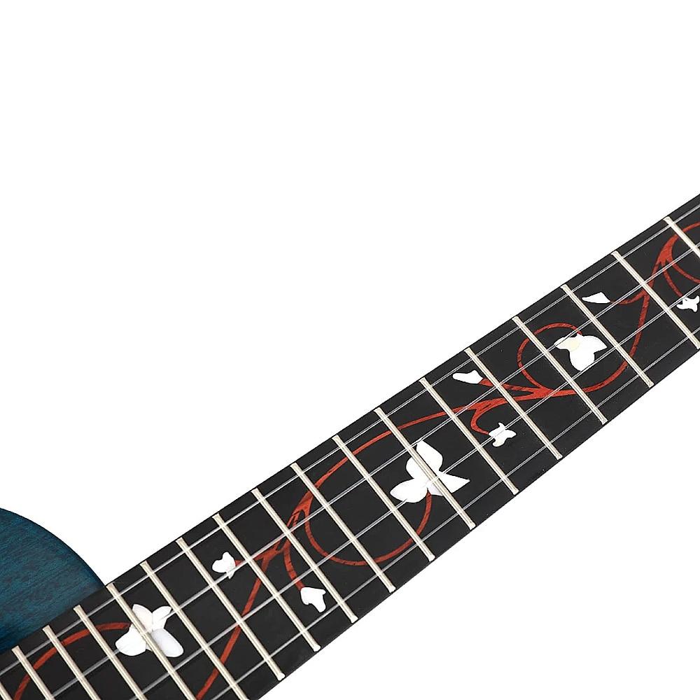 Enya Ukulele Concert Tenor M6 Ukelele High Gloss AAA Solid Mahogany Acoustic String Instruments Hawaii Mini Guitar with Pickup enlarge