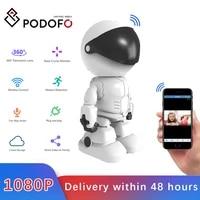 podofo 1080p robot ip camera security camera wifi wireless cctv camera smart home video surveillance p2p baby monitor